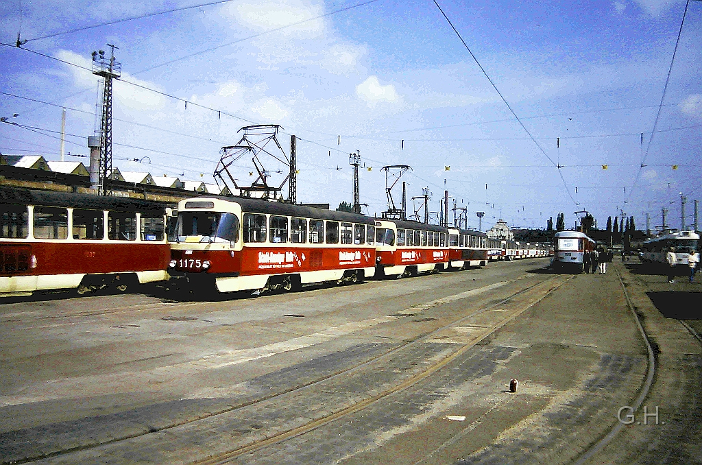 Eisenbahn Modellbahn Stra Enbahn Halle Tw1175 Tw1xxx